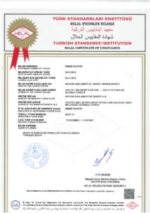 İSTANBUL TSE Helal sertifikası